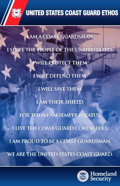 Coast Guard Ethos